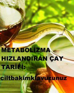Ender Saraç metabolizma hızlandırıcı çay tarifi