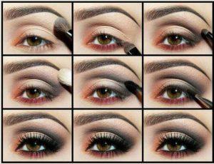 Göz makyajı videosu