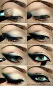 kuyruklu göz makyajı nasıl yapılır?