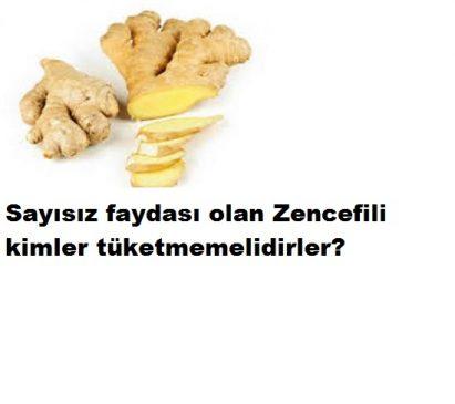 Read more about the article SAYISIZ FAYDASI OLAN ZENCEFİLİ KİMLER TÜKETMEMELİ