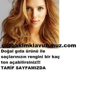 Read more about the article SAÇ RENGİNİ DOĞAL OLARAK AÇAN TARİF