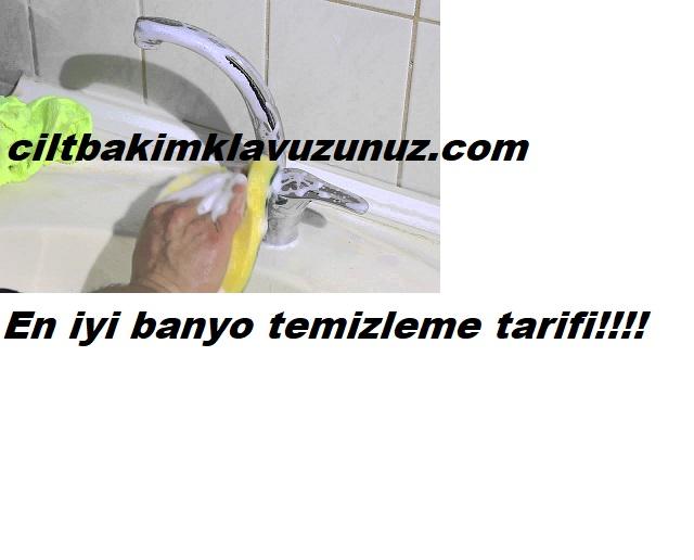 En iyi banyo temizleme yöntemi