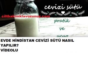 Hindistan cevizi sütünüzü evde kendiniz yapabilirsiniz