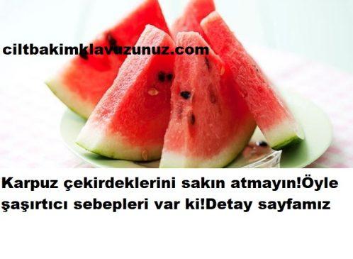 Read more about the article KARPUZ ÇEKİRDEKLERİNİ SAKIN ATMAYIN FAYDALARI ŞAŞIRTIYOR