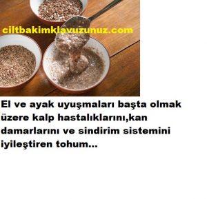 Kalp hastalıklarından el uyuşmalarına kadar iyi gelen tohum