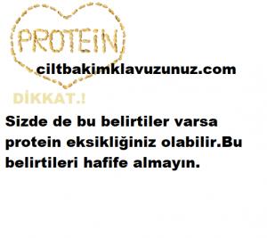 Protein eksikliğinin 10 önemli işareti