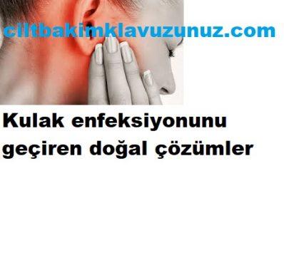 Read more about the article KULAK  ENFEKSİYONUNU GEÇİREN DOĞAL TARİFLER